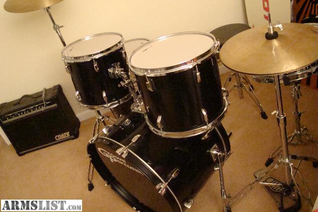 armslist for trade groove percussion drum set. Black Bedroom Furniture Sets. Home Design Ideas
