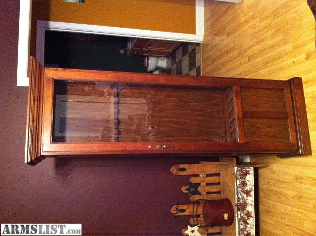 ARMSLIST - For Sale/Trade: Wood gun rifle cabinet not a safe but ...