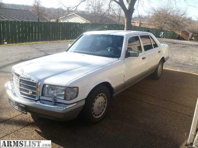 Armslist for sale trade 1986 mercedes benz 420sel for 1986 mercedes benz 420 sel
