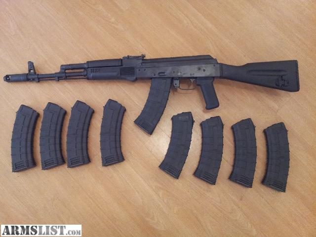 ARMSLIST - For Sale: Brand new tactical AK-74 with over 2,000 ...