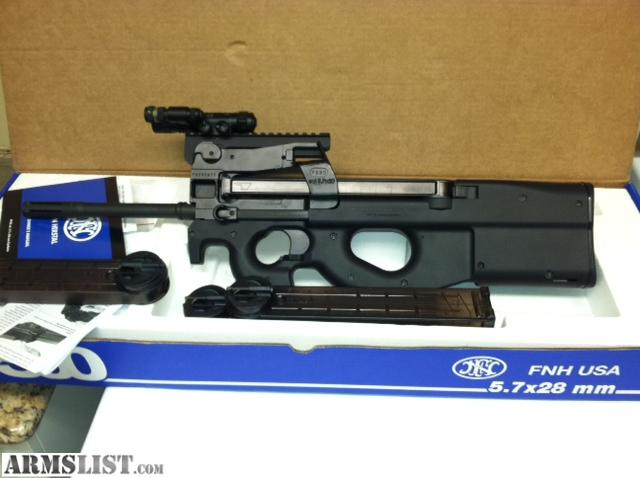 Ps90 For Sale >> ARMSLIST - For Sale: FNH PS90 & FNH 5.7 pistol with 1500 rds ammo