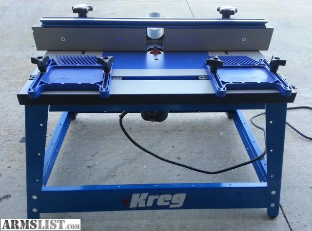 Armslist for trade kreg router tableporter cable router and have a kreg router table with a model 1001 porter cable router and a triton miter saw both are about 1 year old and been in my garage id like to trade keyboard keysfo Choice Image