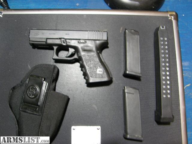 ARMSLIST - For Sale/Trade: Glock 19 concealed carry package, ready ...