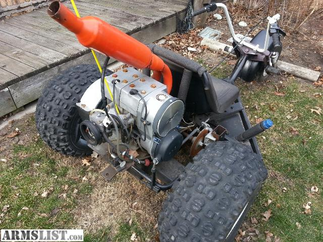 armslist for sale 3 wheeler with 440 snowmobile engine. Black Bedroom Furniture Sets. Home Design Ideas