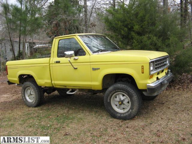 armslist for sale trade 1988 ford ranger xlt 4x4. Black Bedroom Furniture Sets. Home Design Ideas