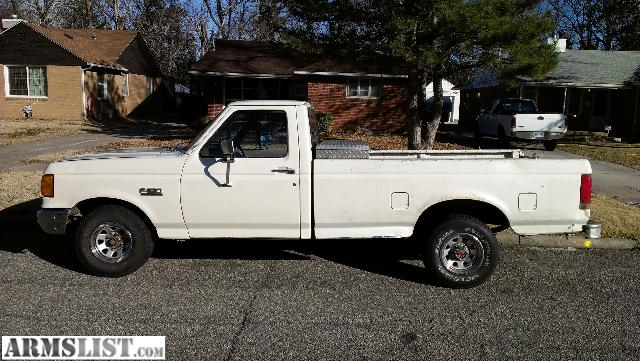 armslist for sale trade 1991 ford f150 good work truck