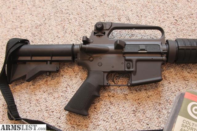 Armslist for sale trade colt ar 15 a2 govt carbine pre 94 ban