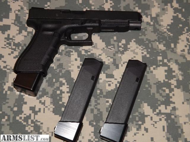 ARMSLIST - For Sale: Glock 34 Gen 4 Sweet Set Up/ EXTENDED ...