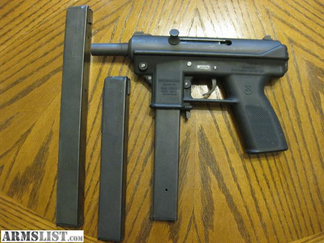 armslist for sale interdynamics kg 9 open bolt pistol. Black Bedroom Furniture Sets. Home Design Ideas