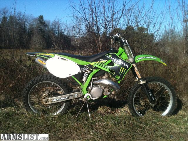 ARMSLIST - For Sale: WTT: 2002 Kawasaki KX125 trade for AR 10- AR 15