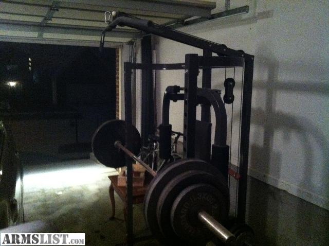 Armslist For Sale Parabody Squat Rack And Weights Trade
