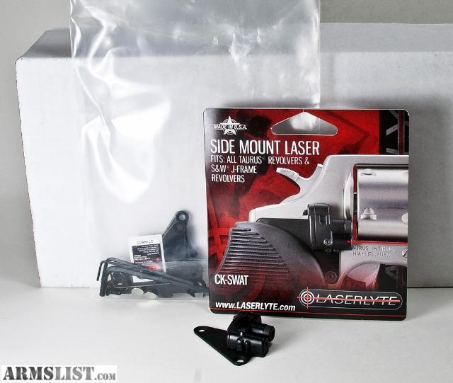 Mount Laser For Taurus Revolvers: For Sale: Laserlyte CK-SWAT Side Mount Laser