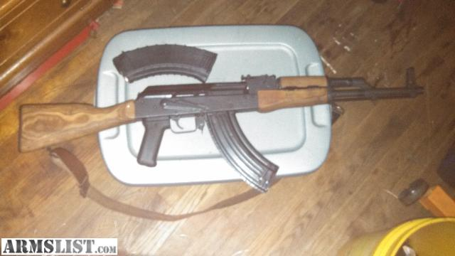Armslist for sale trade ak 47 wood furniture wasr with two clips and 80 rounds Ak 47 wooden furniture