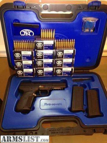 armslist   for sale fnhusa fn five seven 5 7x28 5 7 amp ammo