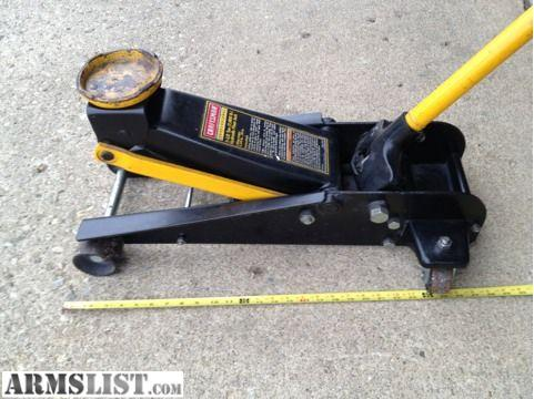 ARMSLIST - For Sale/Trade: Craftsman floor jack 7000 pound ...