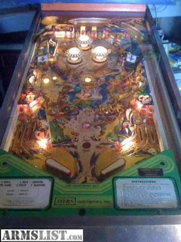 pinball machine for sale craigslist