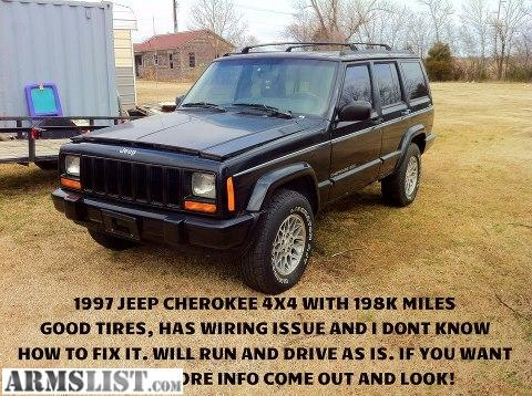 armslist for sale trade 97 jeep cherokee 4x4 90 jeep wagoneer 4x4 1989 15 boat and motor. Black Bedroom Furniture Sets. Home Design Ideas
