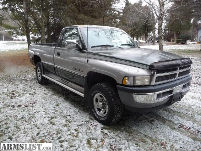 armslist for sale 1996 dodge ram 1500 slt reg cab. Black Bedroom Furniture Sets. Home Design Ideas