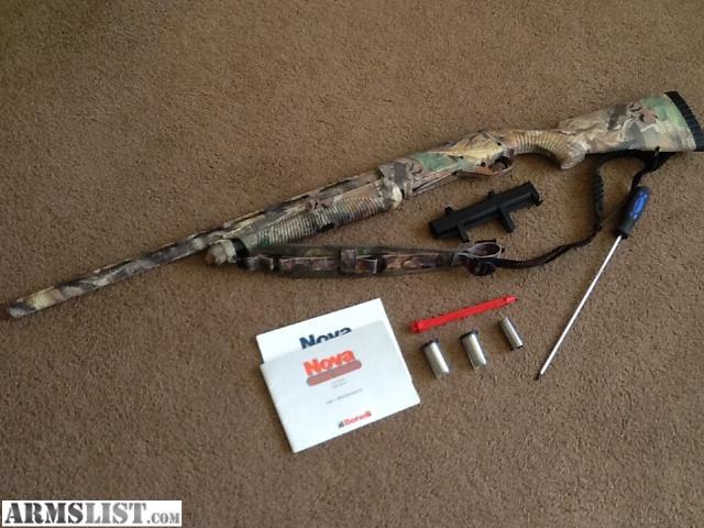 Armslist for sale benelli nova pump w oz recoil reducer