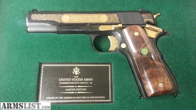 Portland Oregon Handguns For Sale Trade Rare United States Army Comm