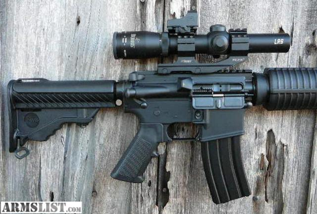 ARMSLIST - For Sale: DPMS -- AR-15 M4 .223/5.56 w. Optics ...