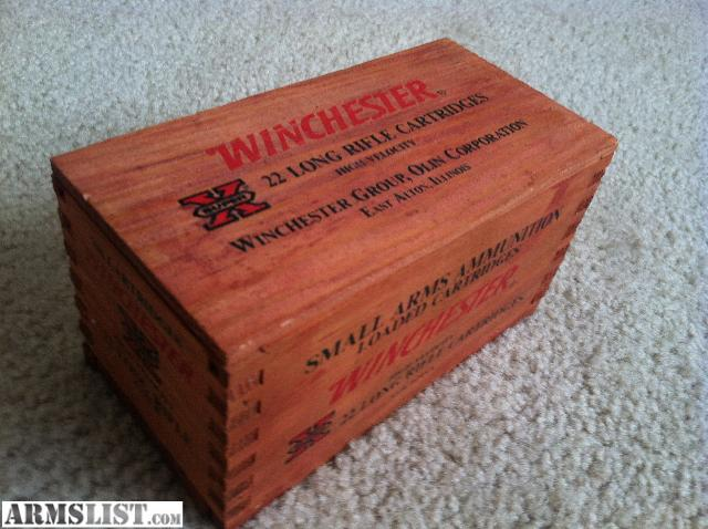dating winchester ammunition boxes