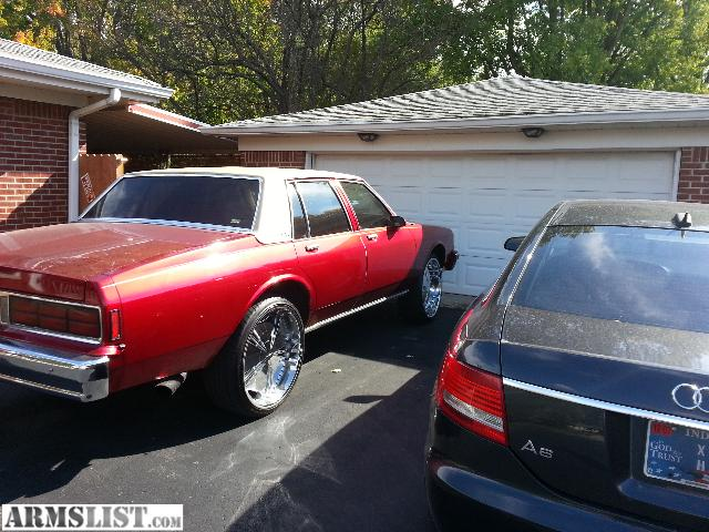 armslist for sale trade 1989 chevy caprice must sell. Black Bedroom Furniture Sets. Home Design Ideas