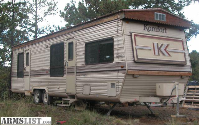 Armslist for sale trade 33 39 komfort camping hunting for Cabin a camper for sale