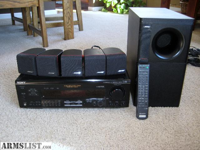 armslist for trade bose surround sound system with sony. Black Bedroom Furniture Sets. Home Design Ideas