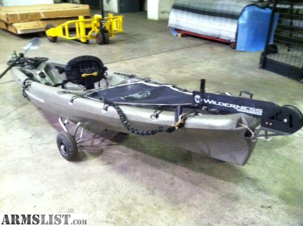 A NEW And READY TO FISH PLAY Kayak Rare Mad River Canoe Called The Synergy Model It Is Hybrid Of Best Both Worlds For Fishing