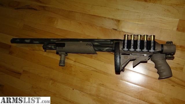 ARMSLIST - For Sale: Mossberg 500 Camo 12ga Tactical