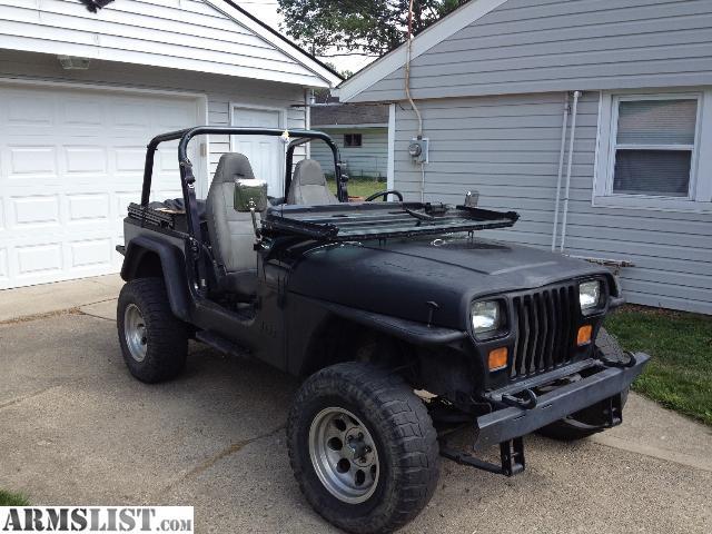 armslist for sale 1993 jeep wrangler. Black Bedroom Furniture Sets. Home Design Ideas