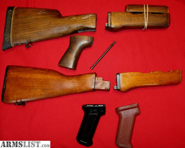 east german ak stock set