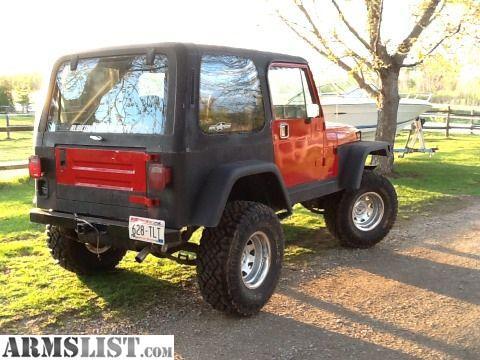 armslist for sale 87 jeep wrangler with hard top. Black Bedroom Furniture Sets. Home Design Ideas