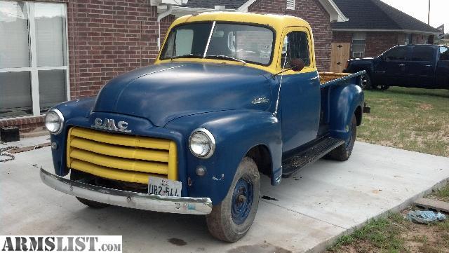 armslist for sale trade 1953 gmc 1 2 ton regular cab. Black Bedroom Furniture Sets. Home Design Ideas