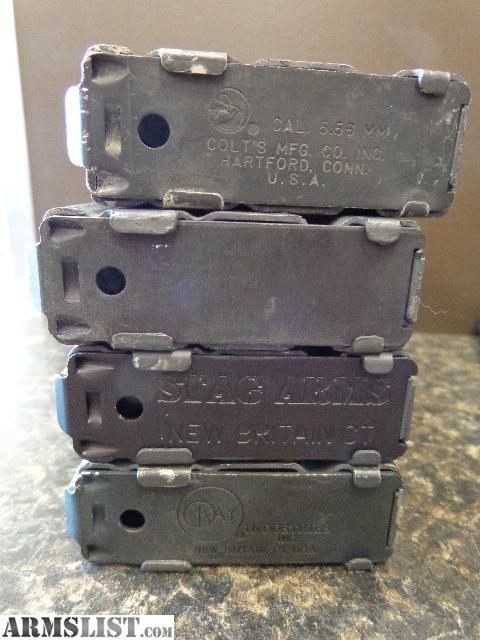 ARMSLIST - For Sale: AR-15 Metal GI Mags - Colt - Stag - Kay - Lot of 5