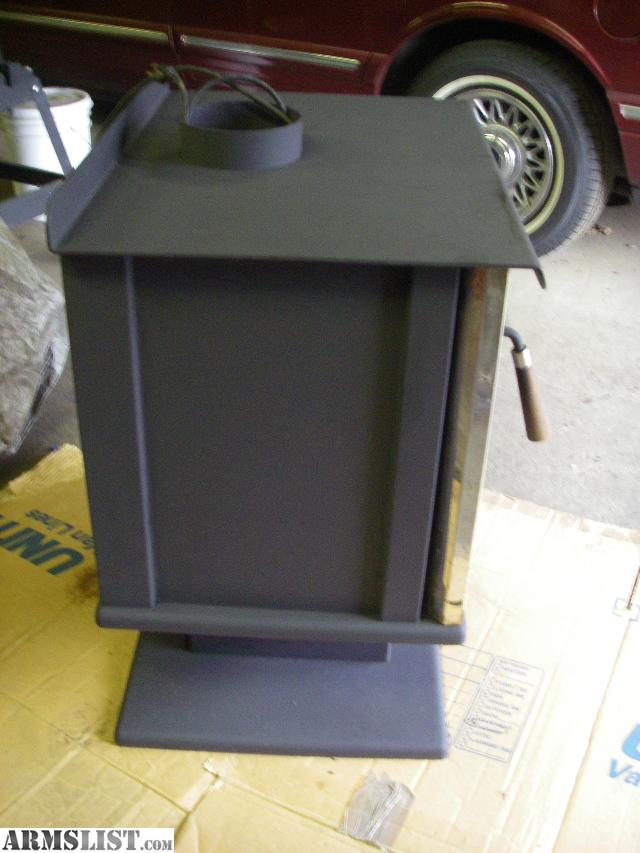 I have a Very nice Arrow wood stove. built like a tank. Very heavy. Clean.  The exhust is standard 6 inch. Has electric blower fan with controler. - ARMSLIST - For Sale/Trade: Very Nice Arrow Wood Stove