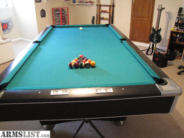 Share: $ 1,500. Brunswick 9 Foot Continental Tournament Pool Table