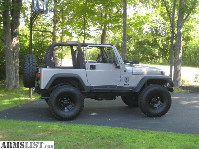 armslist for sale 2001 jeep wrangler tj sport lifted. Black Bedroom Furniture Sets. Home Design Ideas