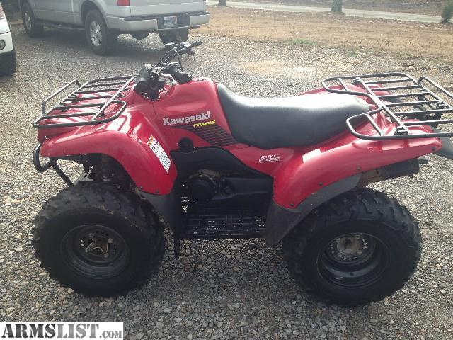 ARMSLIST - For Sale: 2007 Kawasaki Prairie 360 2x4