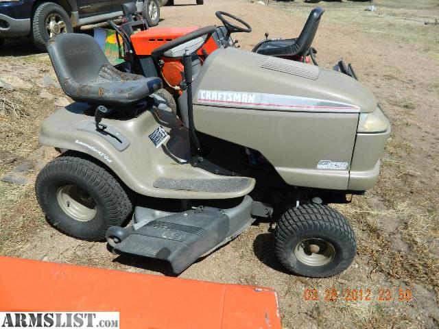 Armslist for sale trade lawn tractors and used parts - Used garden tractors for sale by owner ...