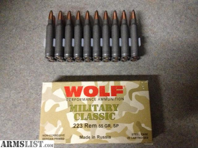 Firestorm Incendiary 5.56 Ammo Test from Wolf Hill Trading ...