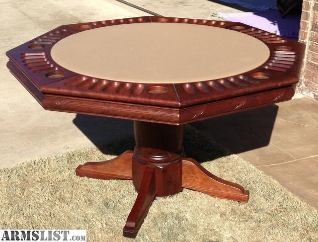 armslist - for sale/trade: dining/poker table