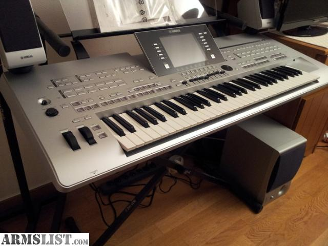 armslist for sale yamaha tyros 4 keyboard korg pa3x pro. Black Bedroom Furniture Sets. Home Design Ideas