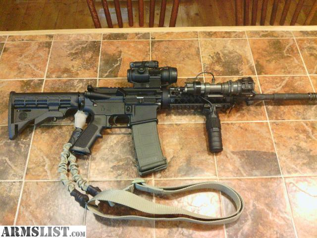 Armslist For Sale Bushmaster Ar With Aimpoint And