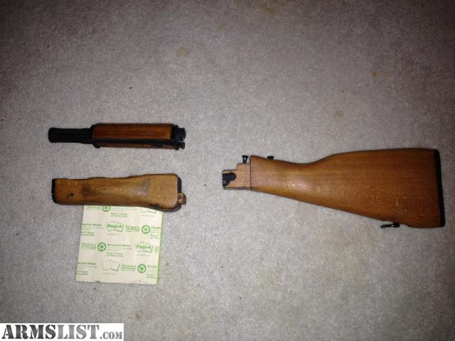 Armslist for sale ak 47 wood furniture 50 obo Ak 47 wooden furniture