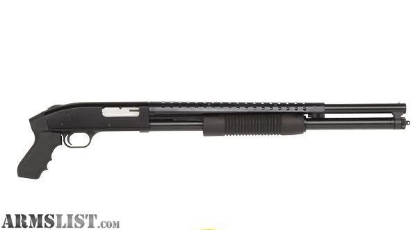 Mossberg Model 500 12 Gauge Pump Action Shotgun 30 Full Choke Vent ...