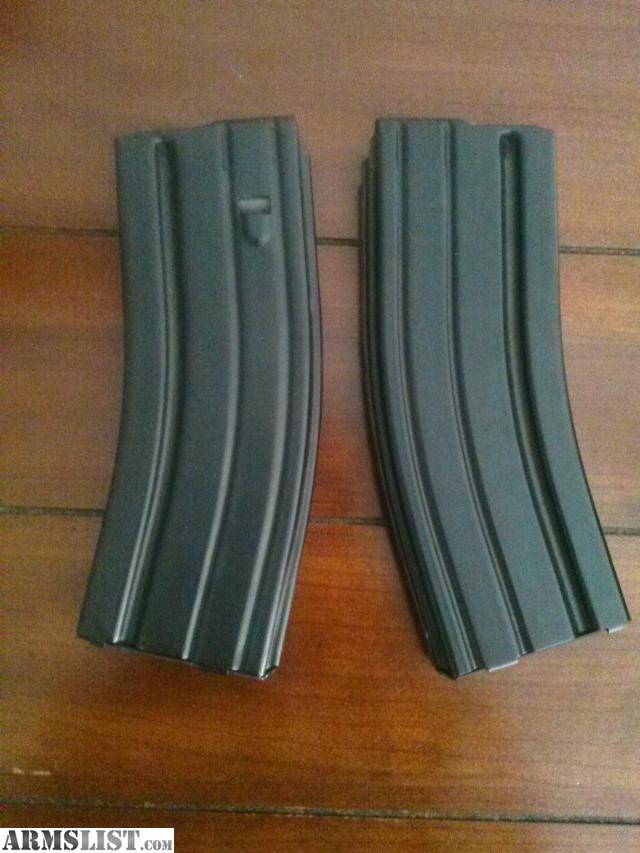 ARMSLIST - For Sale: AR-15 30 Round Metal Mags (2)