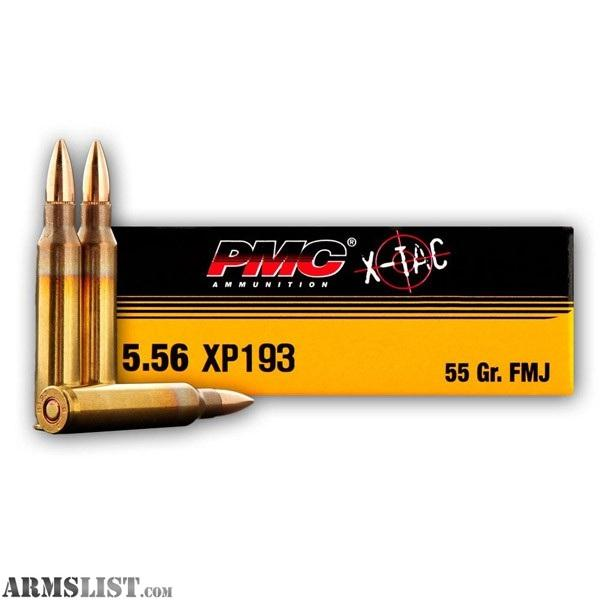 Armslist For Sale 1 000 Rounds Of Pmc X Tac 5 56 Ammo