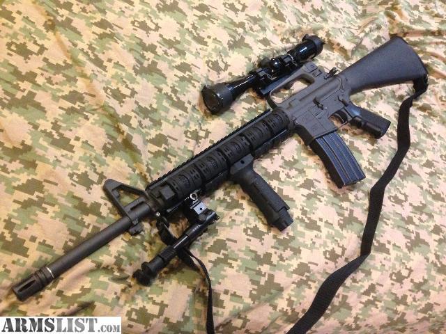 ARMSLIST - For Sale: Custom 5.56 AR-15 Sniper Rifle
